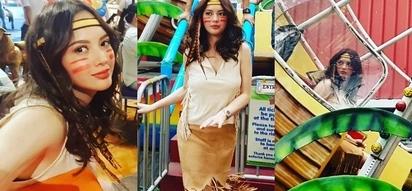 Ellen Adarna dresses up as Pocahontas because 'trip niya lang'