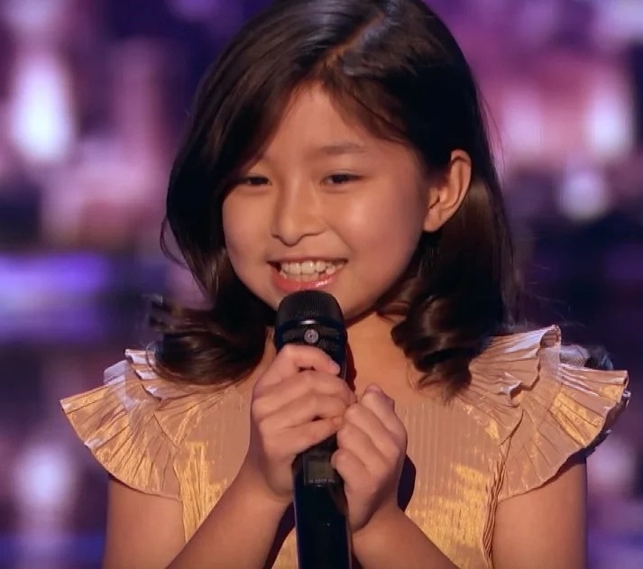 From her viral audition video and now this. Young singer named after Celine Dion gets Golden Buzzer