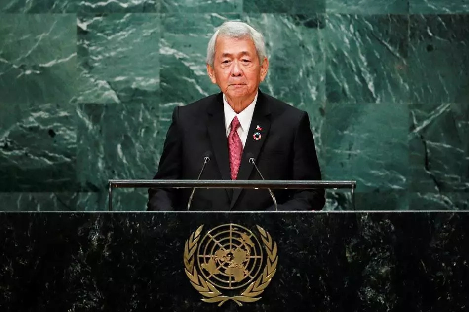 Yasay tells world in UN speech not to interfere with PH drug war