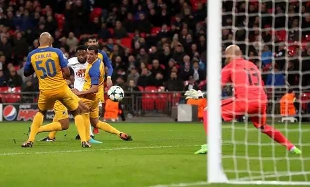 Wanyama's Tottenham demolish Apoel Nicosia 3-0 to emerge Group H winners