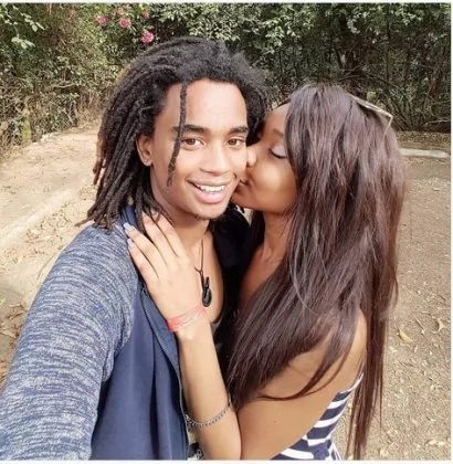 Kibaki's grandson slams rumours, shows off his hot woman in these glorious photos