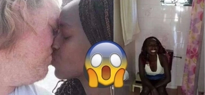 Photos of this young Kenyan girl and her aged sponsor will make you sigh in disbelief