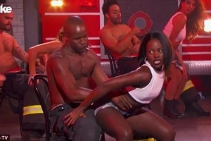 Lupita shows off her DIRTY dancing skills that would increase any man's temperature