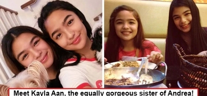 Pwedeng mag-artista! Photos of Andrea Brillantes' sister prove good genes truly run in the family