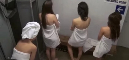 Watch: 'Boys in the girls locker prank' leaves customers bewildered!