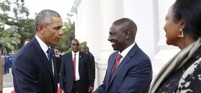 DP William Ruto Praises Obama For 'Telling Off' Opposition