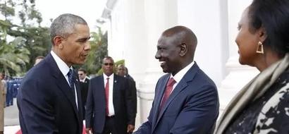 DP William Ruto Praises Obama For 'Telling Off' Opposition