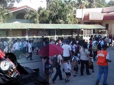 Nakakatakot na! Bomb scare suspends classes in two schools in Laguna
