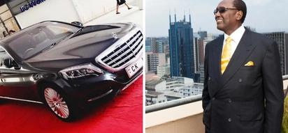 Uchumi ni mbaya lakini Chris Kirubi amenunua Bentley kwa KSh 30 milioni! (Picha)