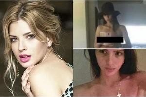 Las fotos en topless de Eugenia Suárez que invaden la web sin su autorización.
