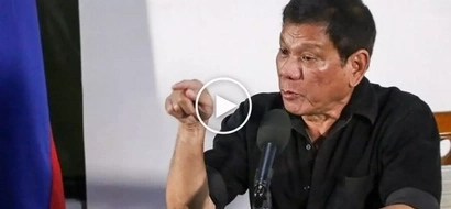 Nagalit si Digong: Angry Duterte slams reporter for asking about his controversial Robredo joke