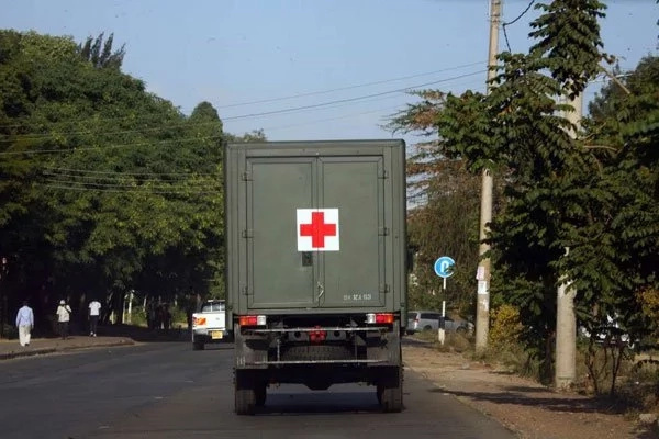 Several soldiers injured as military truck overturns on Mombasa Road