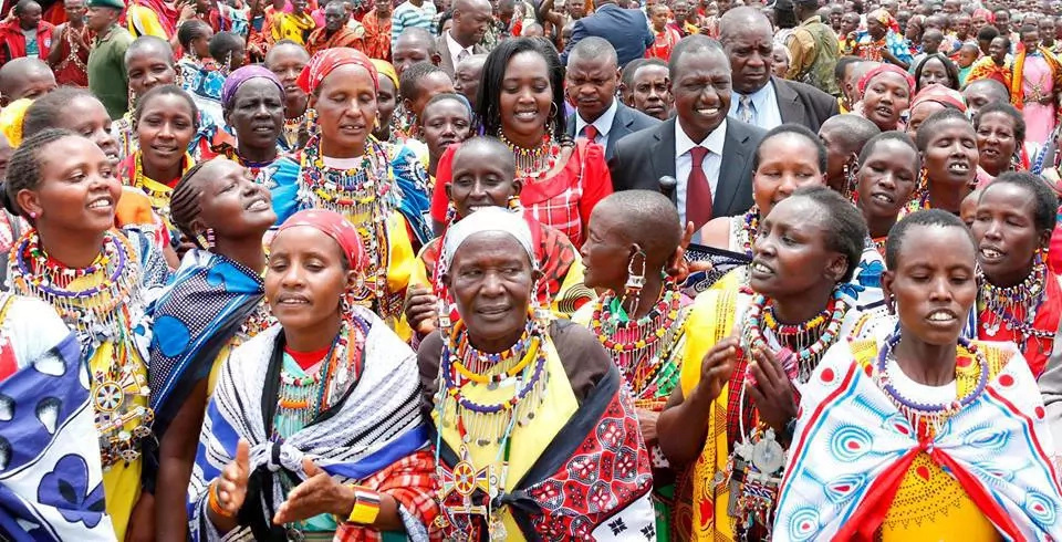Photo: What Ruto said to women to mark holiday