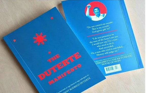 'The Duterte Manifesto' makes you know Duterte more