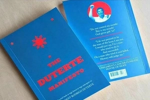 'The Duterte Manifesto' compiles death threats made by new president