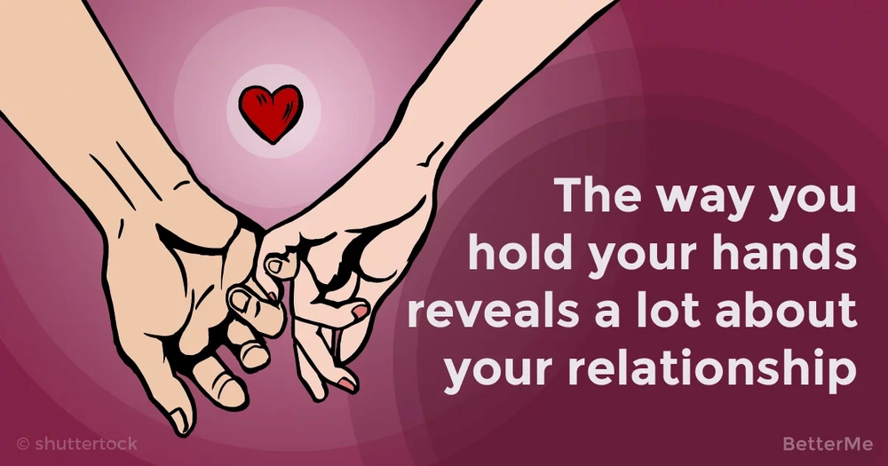 The way you hold hands with your partner can reveal a lot about your relationship