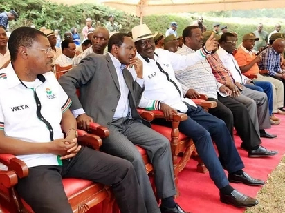 14 clauses in the declaration all NASA MPs are to sign in support of Raila-Kalonzo swearing in