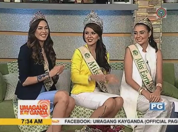 From L-R: Zanardo, Espin, and Gomez were game on answering any questions thrown at them. (Photo credit: ABS-CBN News)