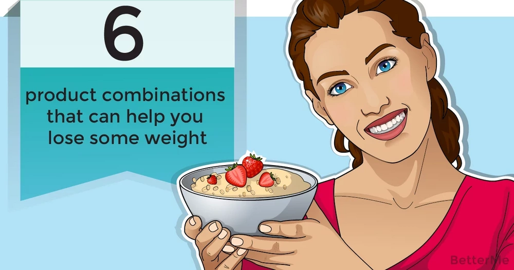 6 product combinations that help you lose weight