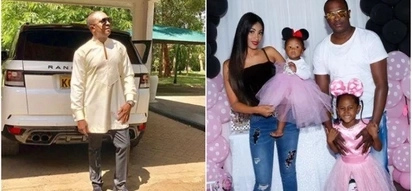 Flamboyant politician Steve Mbogo induces jealousy as he hosts lavish party for eldest daughter