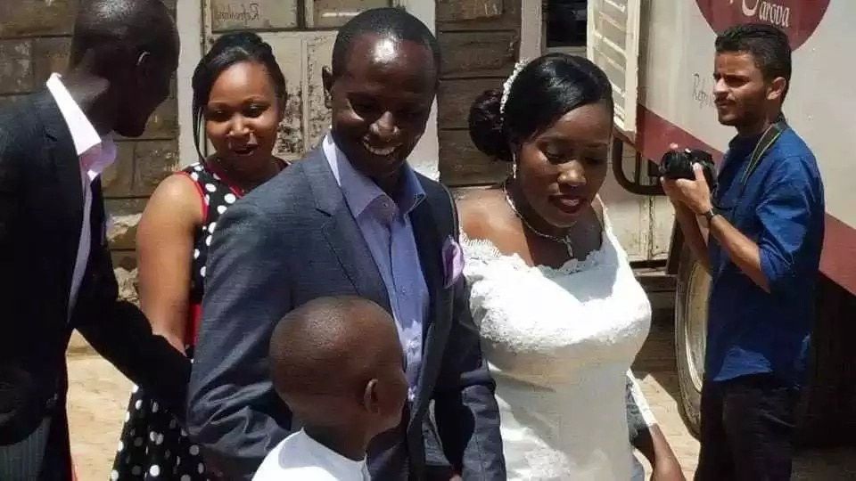 KNUT's Wilson Sossion dumps wife a year after glamorous wedding
