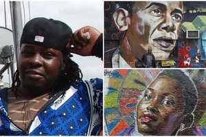 Meet founding father of Kenyan graffiti art who is leaving a mark across world's streets (photos, video)