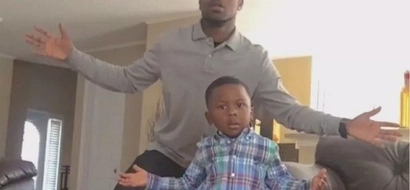 Like father like son! Dad and his 4-year-old son unleash fiery dance video to inspire dads (photos)