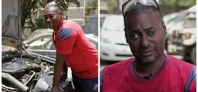 Inspirational! Meet BLIND mechanic in Nairobi who proves disability is not inability (photos, video)