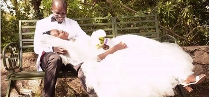 NTV reporters tied the knot and TUKO.co.ke brings you all the best photos