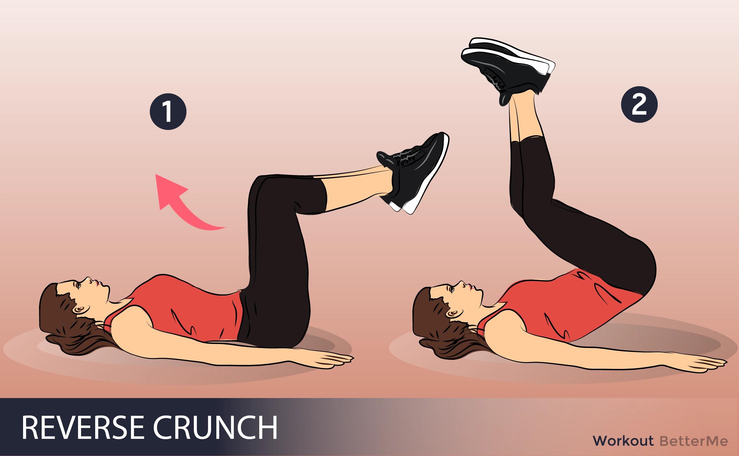 #9. Reverse crunch