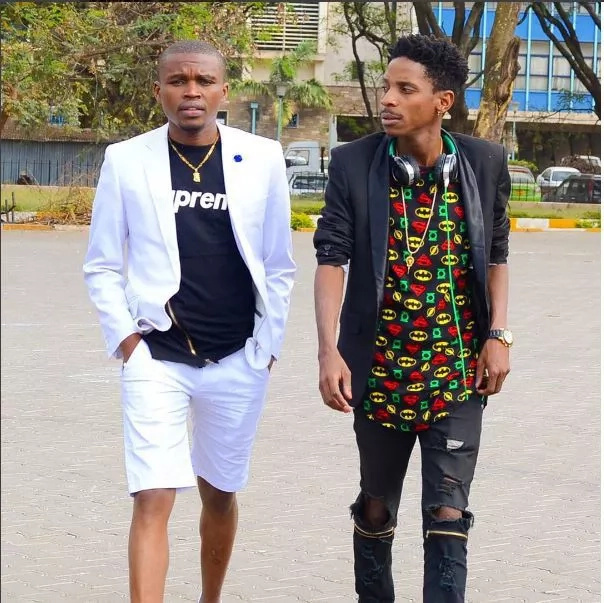 Eric Omondi bares it all in New York streets