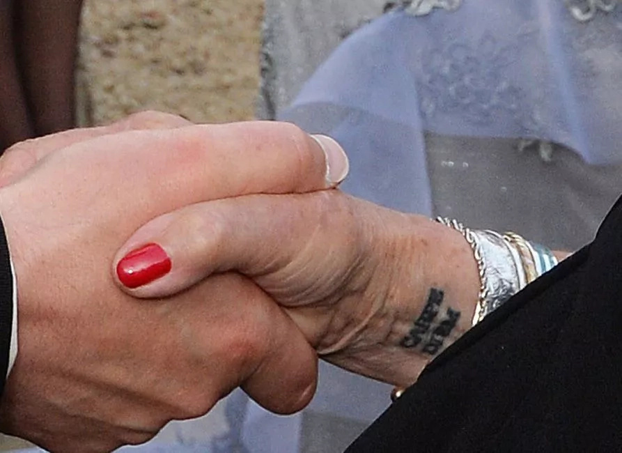 This British actress got her first tattoo at the age of 81, and here's what it looks like
