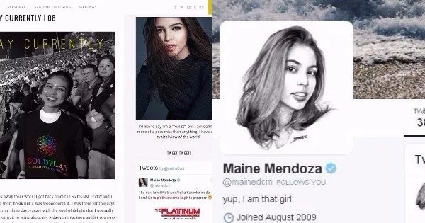 JUST IN: The real reason why Maine Mendoza deactivated her Twitter and Personal Blog