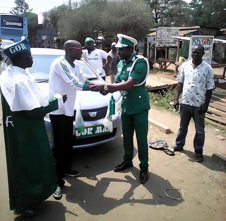 Jaro Soja excited after getting car from the UK