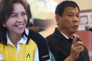 Leni reacts to Duterte's rejection