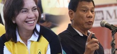 Leni reacts to Duterte's rejection