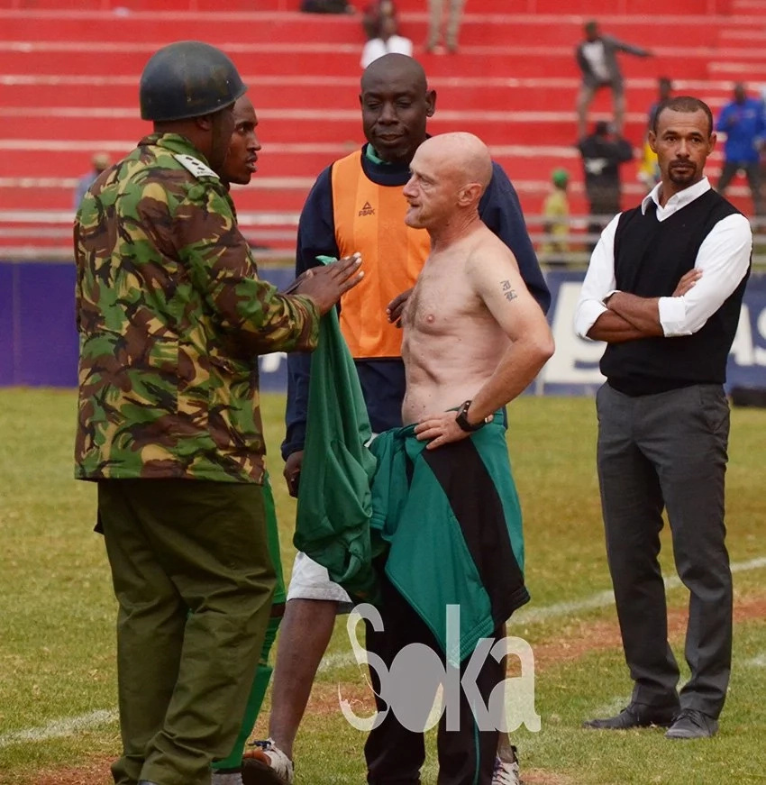 Gor Mahia coach suspended for unbecoming behaviour