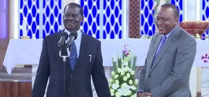 Hilarious! How Uhuru and Raila behave like English Premier League teams