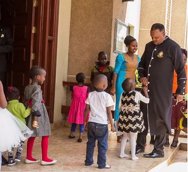 Bishop Allan Kiuna rocks his suit game, fashion style