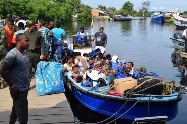 Inmigrantes cubanos no tienen miedo al peligro de la selva