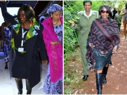 Judith Wakhungu, the Cabinet Secretary who's love for boots is unrivaled and here is proof