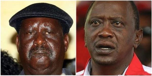 Raila na watu wake ni waoga sana - Uhuru