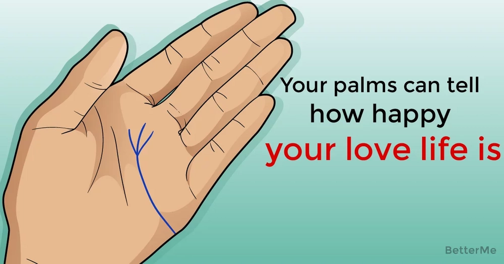 Your palms can tell how happy your love life is