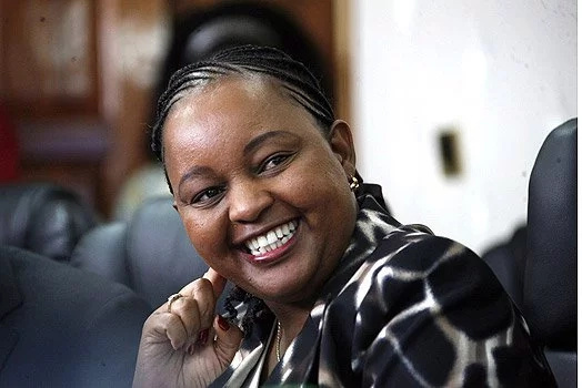 This woman, Anne Mumbi Waiguru knows her style