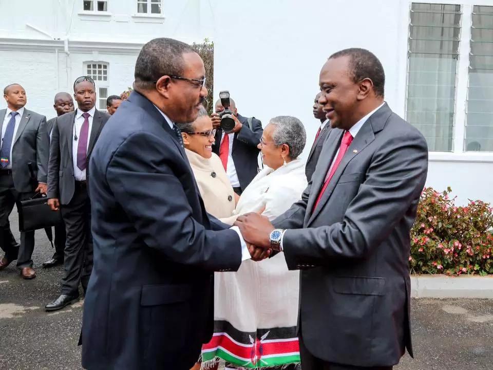 Kenya and Ethiopia's first ladies bear striking resemblance