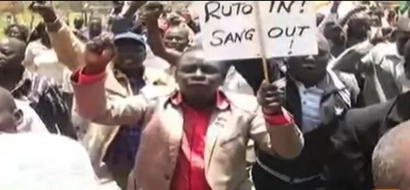 'Ruto In, Sang Out' MCA Booed Off Stage During Fresh 'Anti-ICC' Prayers