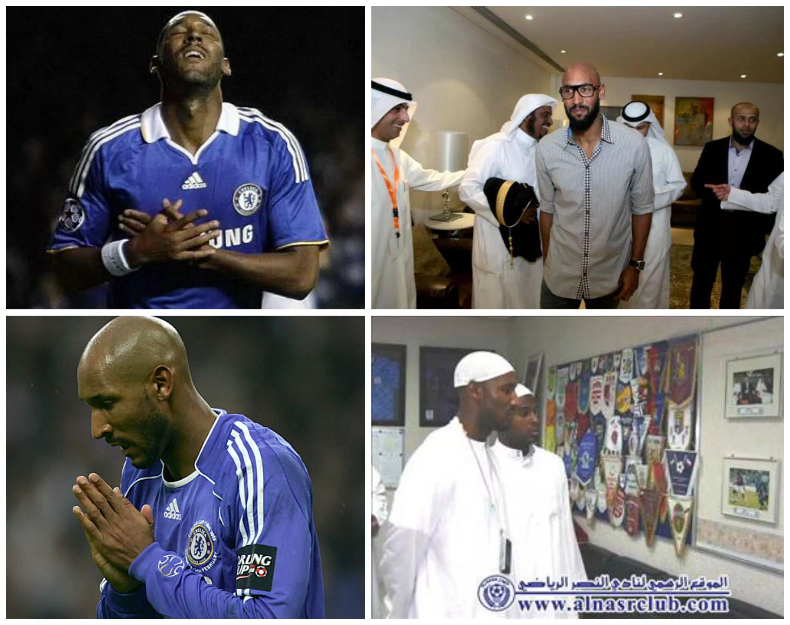 Six famous football players converted to Islam