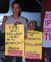 Workers to Duterte: Stop outsourcing services
