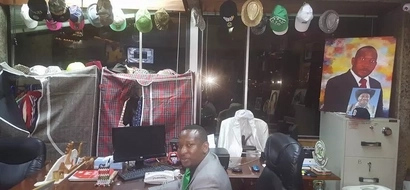 Photos: Mike Sonko takes a beating after exposing his 'cluttered' office