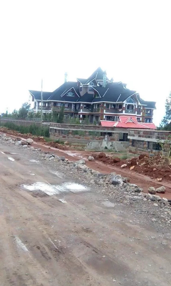 See the multi-million house that bishop Kanyari is buiding